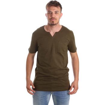 Odjeća Muškarci  Majice kratkih rukava Antony Morato MMKS01487 FA100139 Zelena