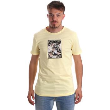 Odjeća Muškarci  Majice kratkih rukava Antony Morato MMKS01551 FA100144 Žuta boja