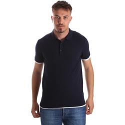 Odjeća Muškarci  Polo majice kratkih rukava Gaudi 911FU53006 Plava