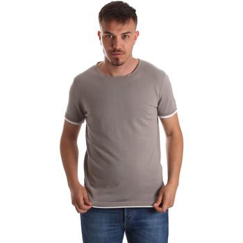Odjeća Muškarci  Majice kratkih rukava Gaudi 911FU53007 Siva