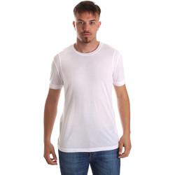 Odjeća Muškarci  Majice kratkih rukava Gaudi 911FU64005 Bijela