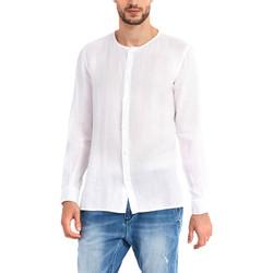 Odjeća Muškarci  Košulje dugih rukava Gaudi 911BU45002 Bijela