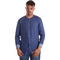 Odjeća Muškarci  Košulje dugih rukava Gaudi 911BU45002 Plava