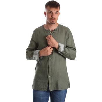Odjeća Muškarci  Košulje dugih rukava Gaudi 911BU45002 Zelena