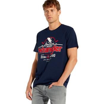 Odjeća Muškarci  Majice kratkih rukava Wrangler W7C08F Plava
