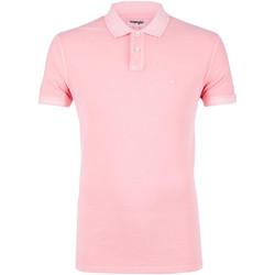 Odjeća Muškarci  Polo majice kratkih rukava Wrangler W7C15K Ružičasta