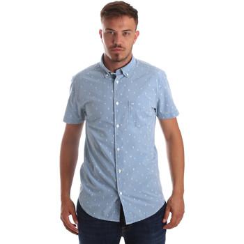 Odjeća Muškarci  Košulje kratkih rukava Wrangler W59446 Plava