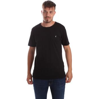 Odjeća Muškarci  Majice kratkih rukava Navigare NV31069 Crno