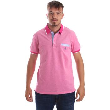 Odjeća Muškarci  Polo majice kratkih rukava Navigare NV82092 Ružičasta