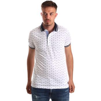Odjeća Muškarci  Polo majice kratkih rukava Navigare NV82099 Bijela