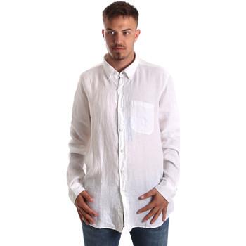 Odjeća Muškarci  Košulje dugih rukava Navigare NV92067 BD Bijela