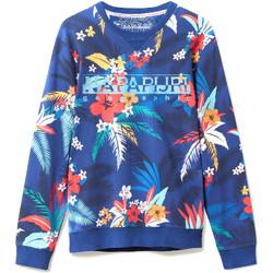 Odjeća Muškarci  Sportske majice Napapijri N0YIF8 Plava