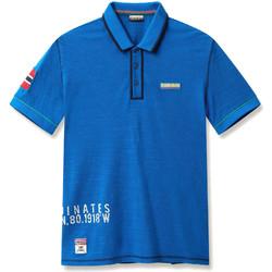 Odjeća Muškarci  Polo majice kratkih rukava Napapijri N0YIG0 Plava
