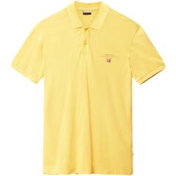 Odjeća Muškarci  Polo majice kratkih rukava Napapijri N0YIJ5 Žuta boja