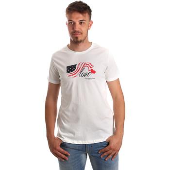 Odjeća Muškarci  Majice kratkih rukava U.S Polo Assn. 51520 51655 Bijela