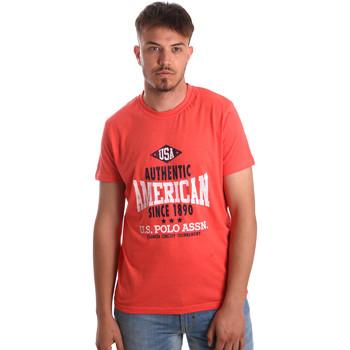 Odjeća Muškarci  Majice kratkih rukava U.S Polo Assn. 52231 51331 Naranča