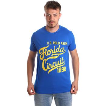 Odjeća Muškarci  Majice kratkih rukava U.S Polo Assn. 49351 51340 Plava
