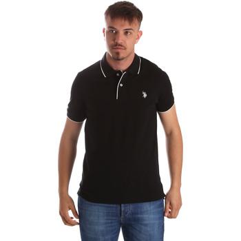Odjeća Muškarci  Polo majice kratkih rukava U.S Polo Assn. 50336 51263 Crno