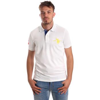 Odjeća Muškarci  Polo majice kratkih rukava U.S Polo Assn. 50336 51267 Bijela