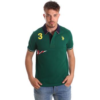 Odjeća Muškarci  Polo majice kratkih rukava U.S Polo Assn. 41029 51252 Zelena