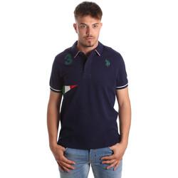 Odjeća Muškarci  Polo majice kratkih rukava U.S Polo Assn. 41029 51252 Plava