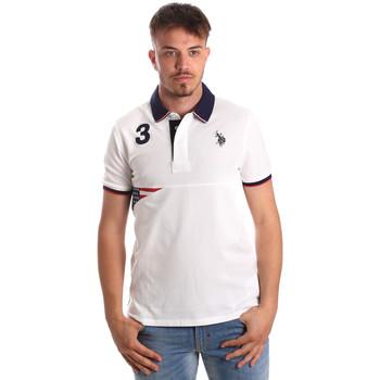 Odjeća Muškarci  Polo majice kratkih rukava U.S Polo Assn. 41029 51252 Bijela