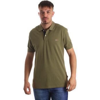 Odjeća Muškarci  Polo majice kratkih rukava Napapijri N0YIJJ Zelena