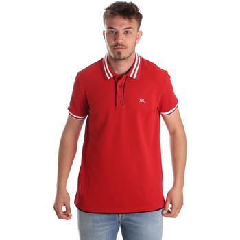 Odjeća Muškarci  Polo majice kratkih rukava NeroGiardini P972210U Crvena