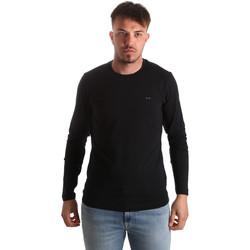 Odjeća Muškarci  Majice dugih rukava Key Up 2E96B 0001 Crno