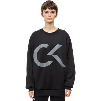 Odjeća Žene  Sportske majice Calvin Klein Jeans 00GWH8W353 Crno