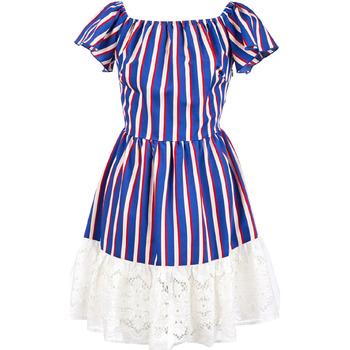Odjeća Žene  Kratke haljine Liu Jo F19384T2311 Plava