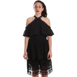 Odjeća Žene  Kratke haljine Fracomina FR19SP539 Crno