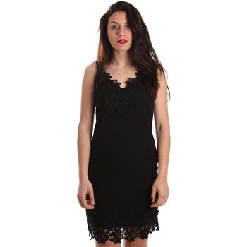 Odjeća Žene  Kratke haljine Fracomina FR19SP024 Crno