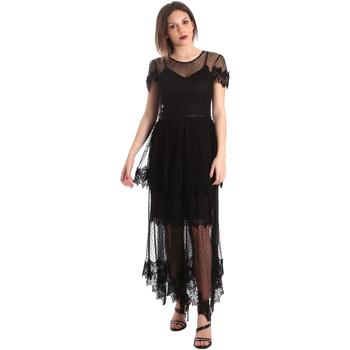 Odjeća Žene  Duge haljine Fracomina FR19SP364 Crno