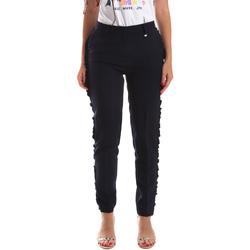 Odjeća Žene  Chino hlačei hlače mrkva kroja Fracomina FR19SP666 Plava