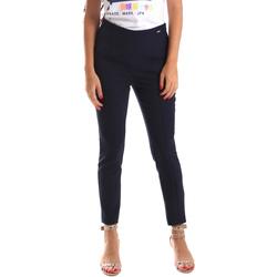 Odjeća Žene  Chino hlačei hlače mrkva kroja Fracomina FR19SP133 Plava