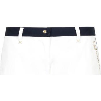 Odjeća Žene  Bermude i kratke hlače Ea7 Emporio Armani 3GTS02 TN29Z Bijela