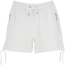 Odjeća Žene  Bermude i kratke hlače Ea7 Emporio Armani 3GTS52 TJ31Z Bijela