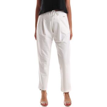 Odjeća Žene  Chino hlačei hlače mrkva kroja U.S Polo Assn. 51478 51302 Bijela