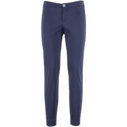 Odjeća Žene  Chino hlačei hlače mrkva kroja NeroGiardini P960510D Plava