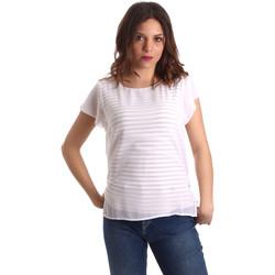 Odjeća Žene  Topovi i bluze NeroGiardini P962470D Bijela