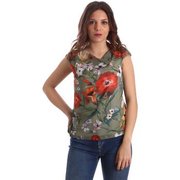 Odjeća Žene  Topovi i bluze NeroGiardini P962570D Zelena