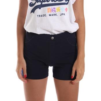 Odjeća Žene  Bermude i kratke hlače Key Up 5L79G 0001 Plava
