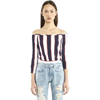 Odjeća Žene  Majice dugih rukava Denny Rose 911DD60016 Plava