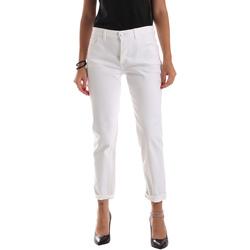 Odjeća Žene  Slim traperice Byblos Blu 2WJ0011 TE0128 Bijela
