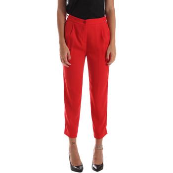 Odjeća Žene  Chino hlačei hlače mrkva kroja Byblos Blu 2WP0002 TE0012 Crvena