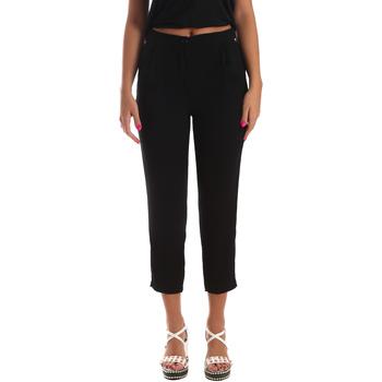 Odjeća Žene  Chino hlačei hlače mrkva kroja Byblos Blu 2WP0002 TE0012 Crno