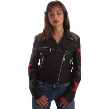 Odjeća Žene  Kožne i sintetičke jakne Byblos Blu 2WS0002 LE0007 Crno