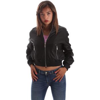 Odjeća Žene  Kožne i sintetičke jakne Byblos Blu 2WS0004 LE0009 Crno