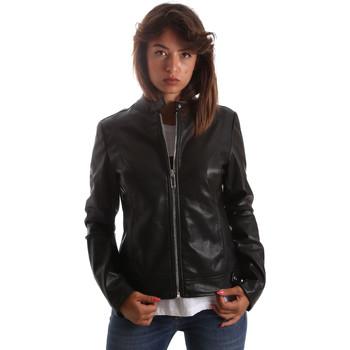 Odjeća Žene  Kožne i sintetičke jakne Byblos Blu 2WS0009 TE0060 Crno